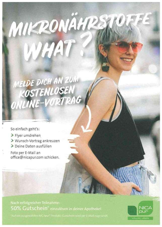 Kostenlose Online-Vorträge der Firma NICApur