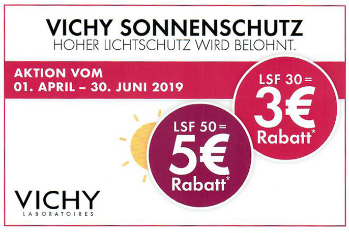Aktion Vichy Sonnenschutz