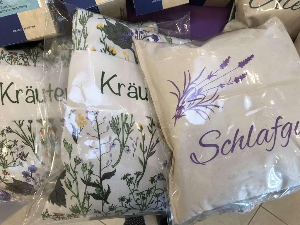 Kräuter-, Lavendel-, Zirbenkissen